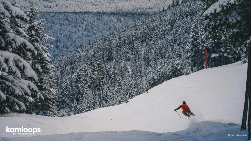 Skiing at Harper Mountain