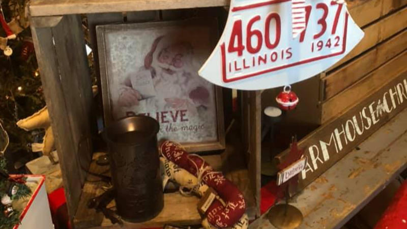 Find a variety of farmhouse decor at The Weathered Birdhouse in Martinsville.