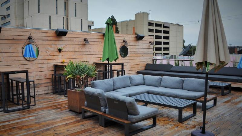 Oeste Rooftop in Oakland, CA.