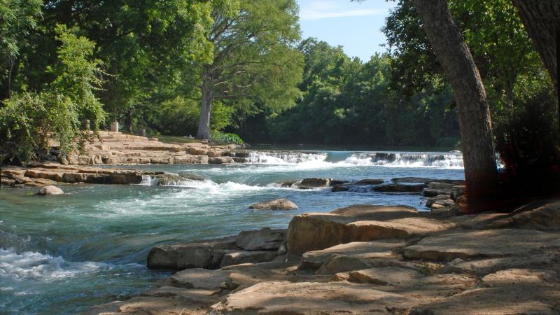 River scene at Rio Vista Park