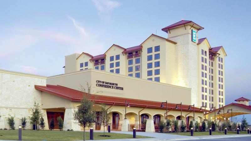 Exterior of San Marcos Conference Center