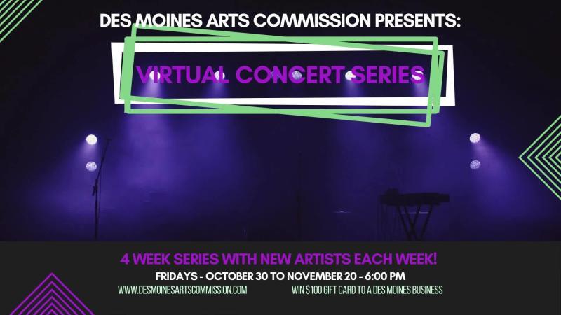 Des Moines Arts Commission Virtual Concert Series