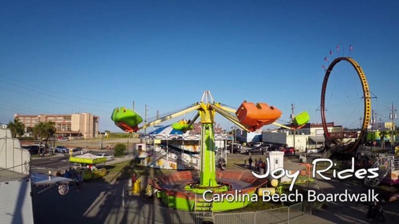 Go With the Flow....Carolina Beach Boardwalk