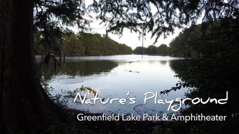 Go With the Flow....Greenfield Lake Park & Amphitheater
