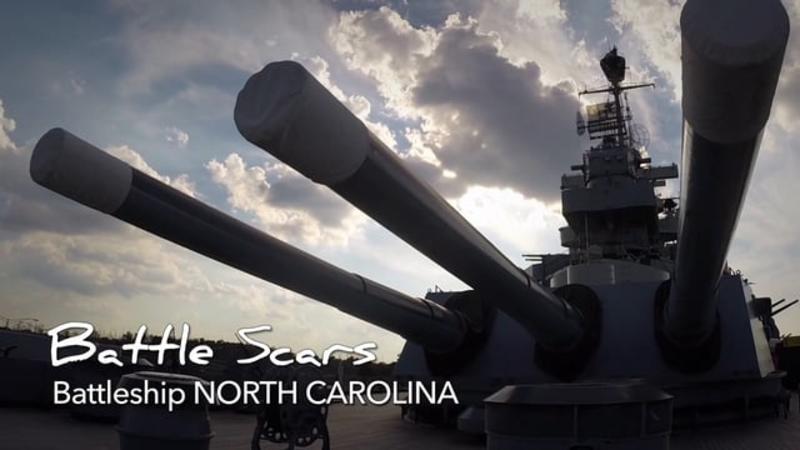 Go With the Flow....Battleship NORTH CAROLINA