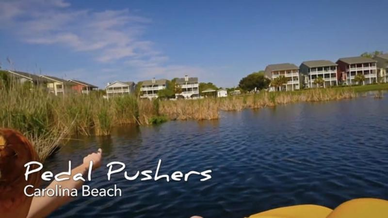 Go With the Flow....Carolina Beach Pedalboats & Bikes