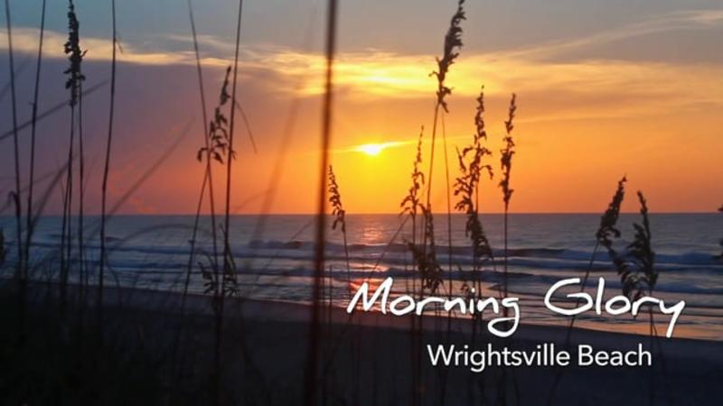 Go With the Flow...Sunrise at Wrightsville Beach