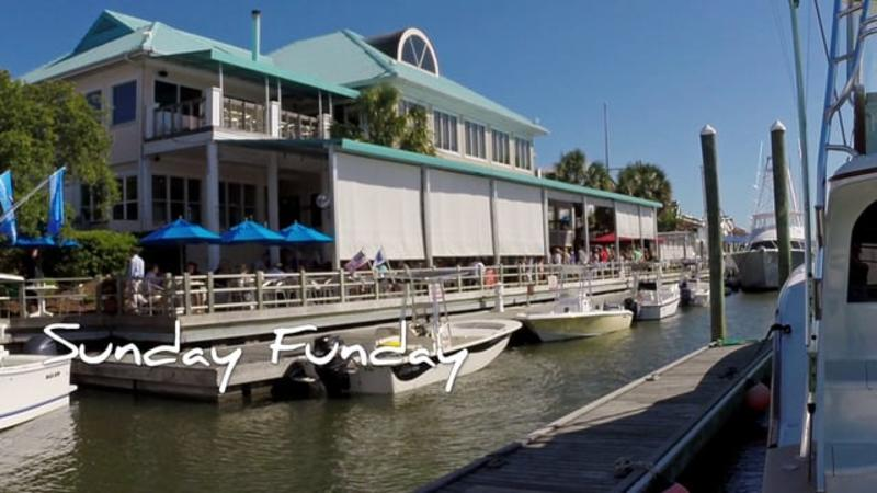 Go With the Flow....Bluewater Grill & Wrightsville Marina - Wrightsville Beach