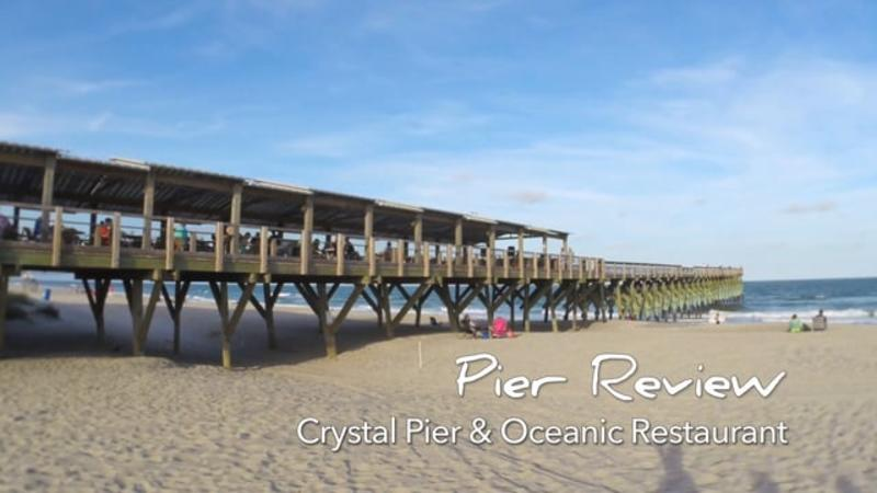 Go With the Flow....The Oceanic & Crystal Pier- Wrightsville Beach