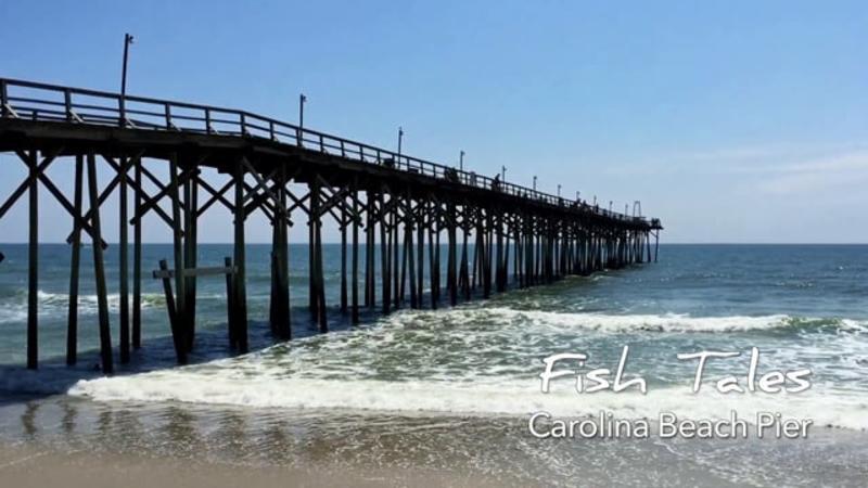 Go With the Flow....Carolina Beach Fishing Pier