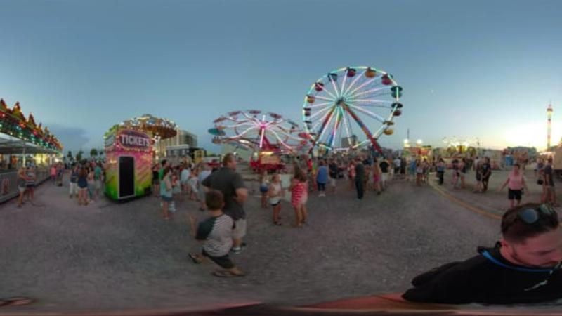 Boardwalk Amusement Rides