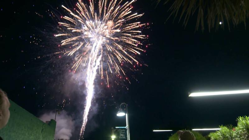 Carolina Beach Summer Fireworks By the Sea, Live Music & Carnival Rides