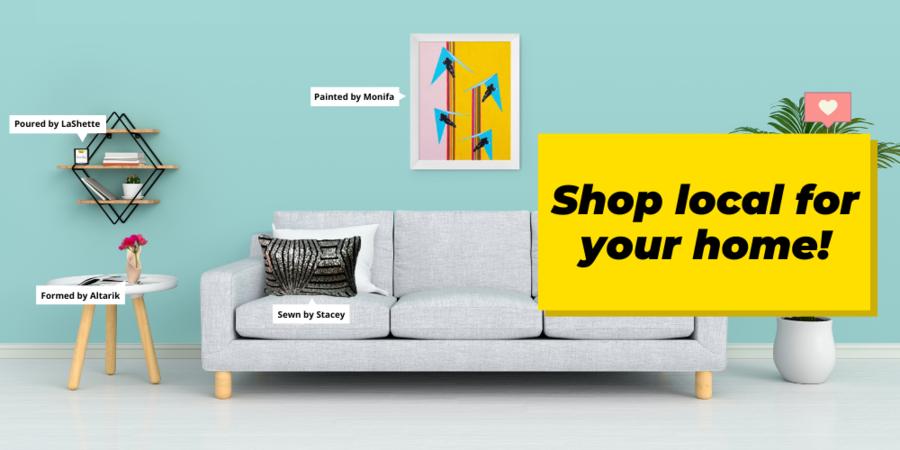 Newark Makerhoods - Shop local for your home!