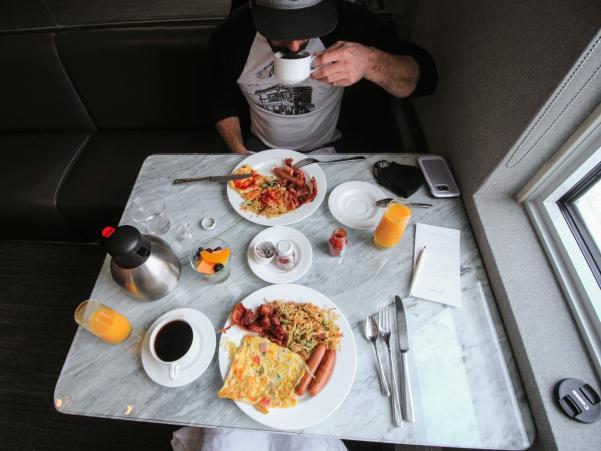 The James breakfast