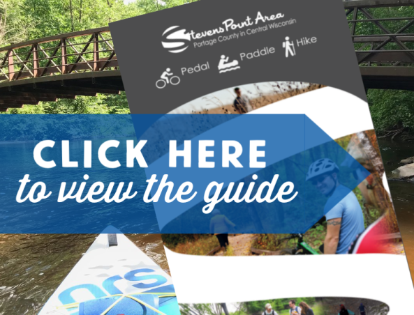Love to be outdoors? Check out the Pedal Paddle Hike Guide for the Stevens Point Area.