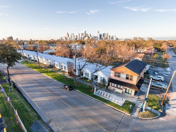 Project Row Houses In Houston, TX