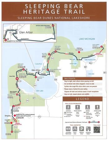 Sleeping Bear Heritage Trail Map