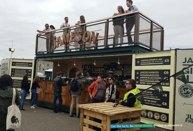 Let's Go Music Fest has a Jameson Bar at their festival this year