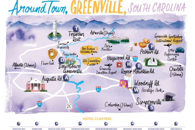 Maps | VisitGreenvilleSC Sc Road Map on sc airport map, sc railway map, sc island map, sc town map, sc agriculture map, downtown charleston sc attractions map, historic downtown charleston map, sc water map, sc route map, sc green map, sc state map, sc viper map, sc hotel map, sc interstate map, sc counties highway map, south ga cities map, sc flood maps, sc mining map, sc house map, south carolina map,