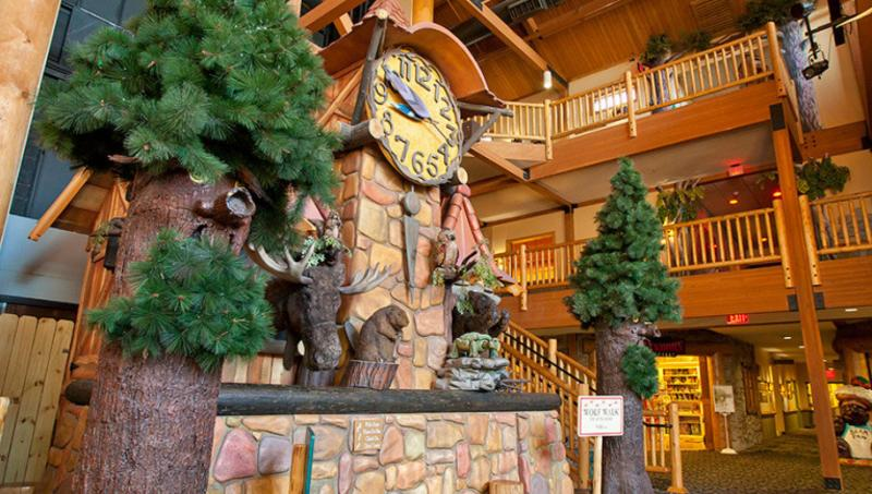 Great Wolf Lodge Clock Tower