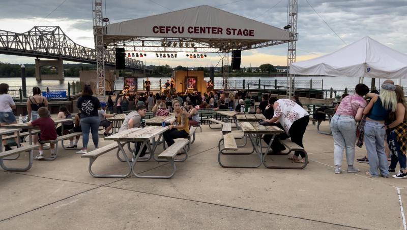 CEFCU Stage