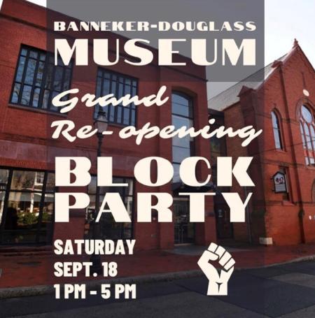 Banneker-Douglass Museum re-opens
