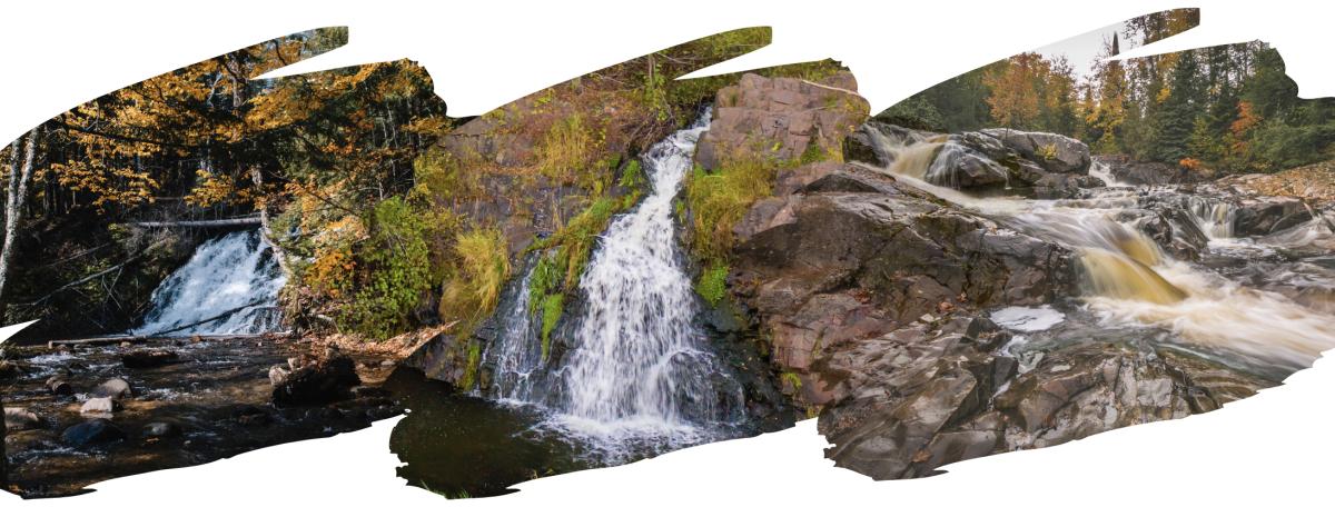 fall waterfall blog