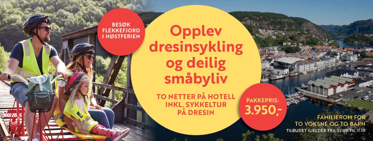 Høstferie 2020 i Flekkefjord banner