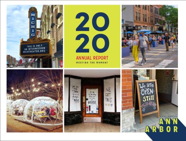 Destination Ann Arbor 2020 Annual Report