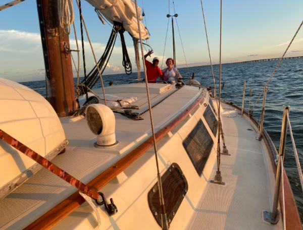 Sail away on Lake Pontchartrain with a sailboat tour