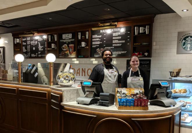 STEAM Coffee & Eatery - Hotel Roanoke