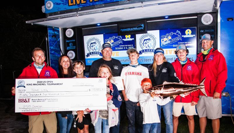 2020 US Open King Mackerel Tournament Winners