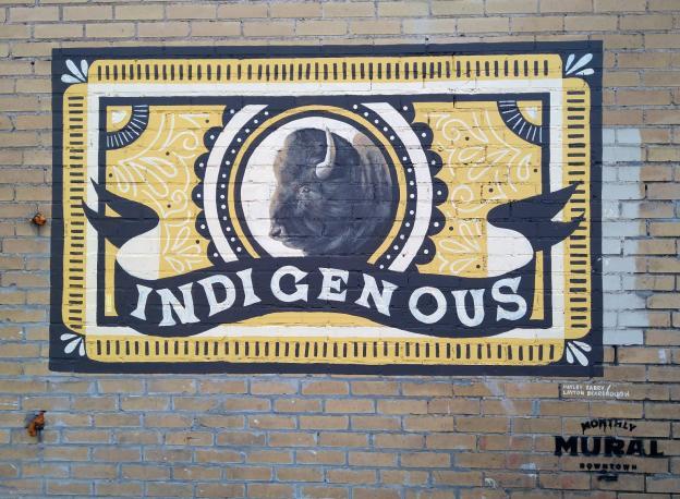 Indigenous Mural