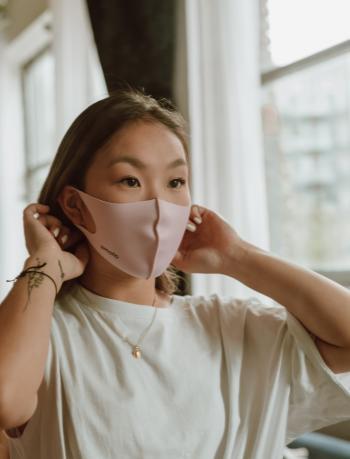 Wear a mask when shopping