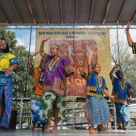 N'Fungola Sibo Dance Theater - Congo Square New World Rhythms Fest 2017