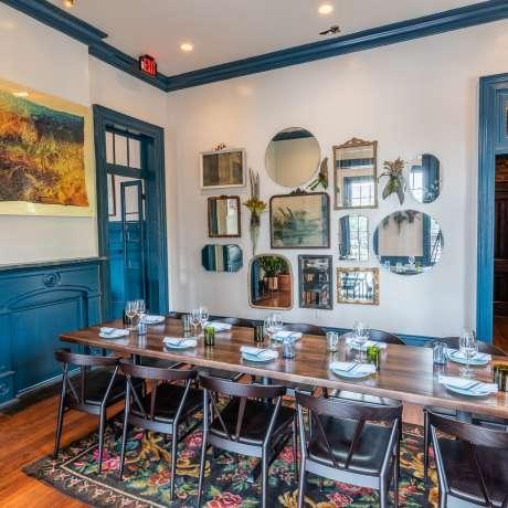 Copper Vine Dining Room