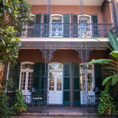 New Orleans Area Plantations on