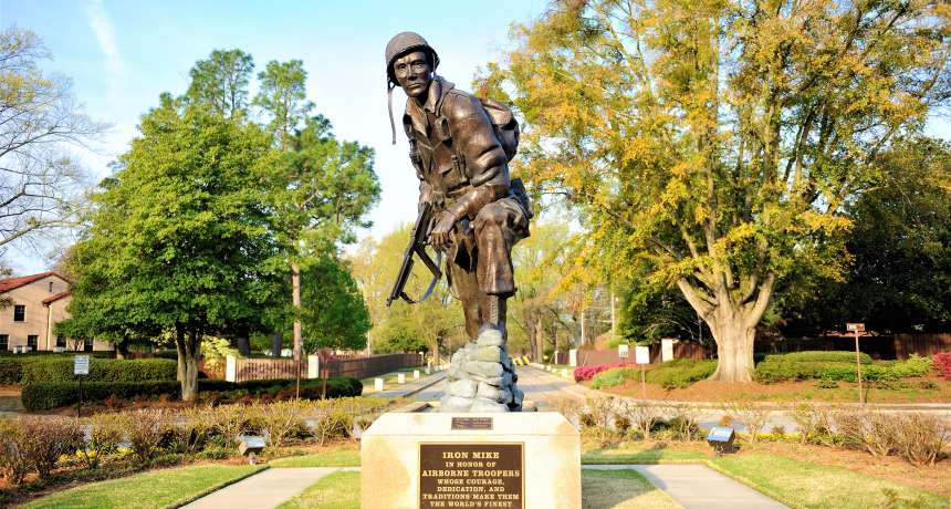 Iron Mike Fort Bragg