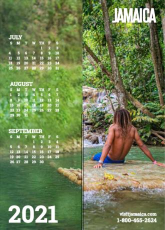 Calendar - Jul to Sep 2021