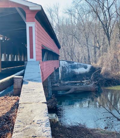 Smith Bridge Covered Bridge, Delaware