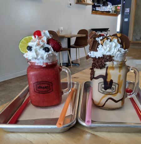 nomad milkshakes