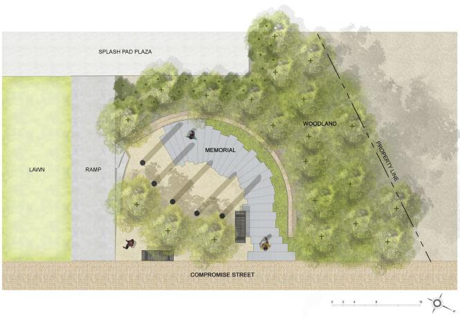 Capital Gazette Guardians memorial plan