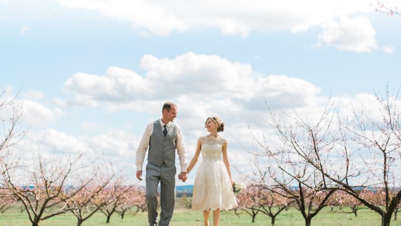 Peach Orchard Bride
