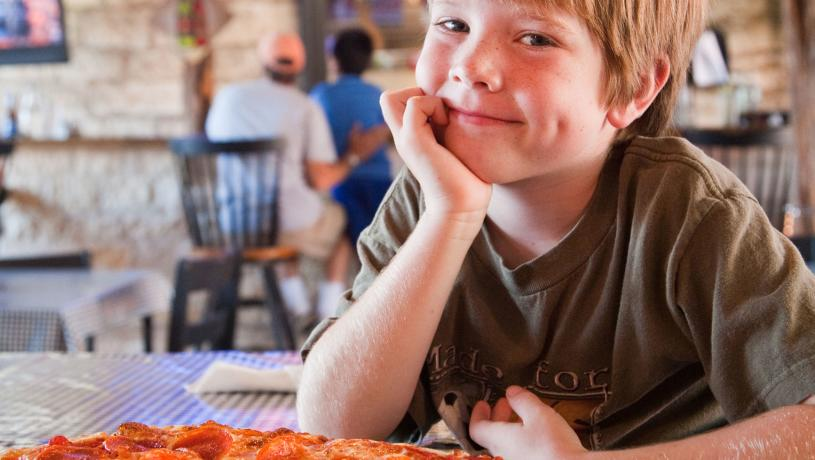 Kid friendly restaurants