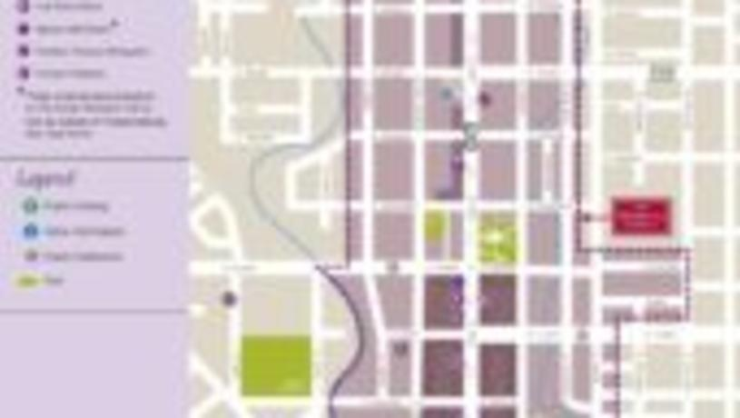 Urban Wineries Trail Map Thumbnail