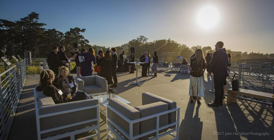 California-Academy-of-Science-Living-Roof-Outdoor-Event