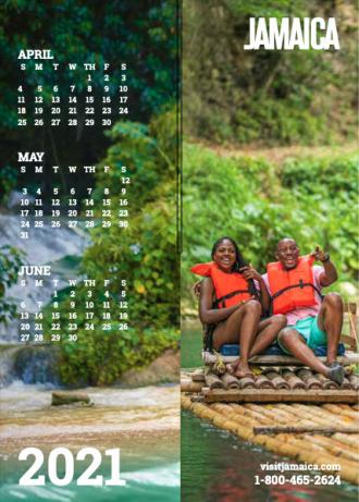 Calendar - Apr to Jun 2021