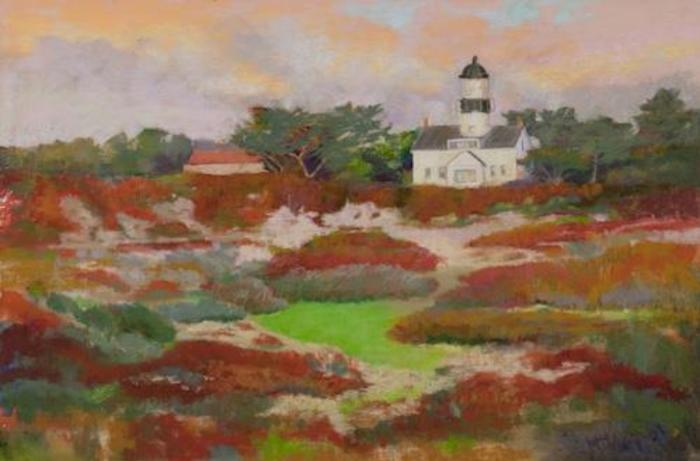 Point Pinos Lighthouse, Pacific Grove, by Cheryl Kempe