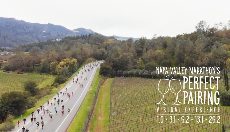 Napa Valley Marathon 2021 Perfect Pairing