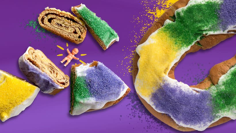 Rouse's King Cake